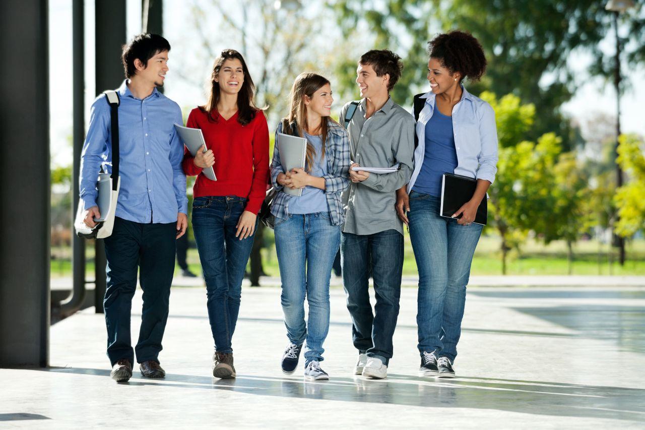 Studenti v Německu