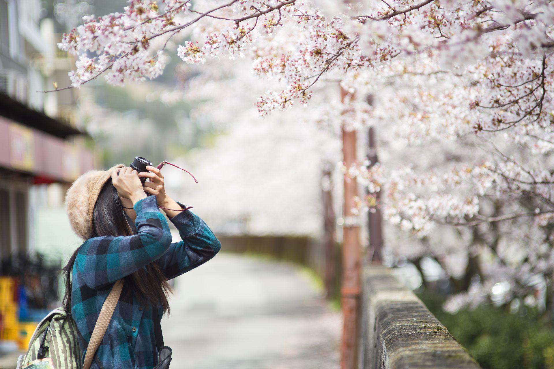 Studentka v Japonsku